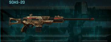 Indar plateau scout rifle soas-20