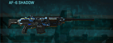 Nc alpha squad scout rifle af-6 shadow