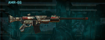 Arid forest battle rifle amr-66