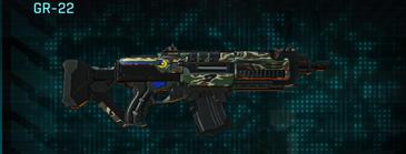 Scrub forest assault rifle gr-22