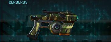Temperate forest pistol cerberus