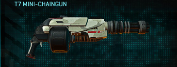 Indar dry ocean heavy gun t7 mini-chaingun