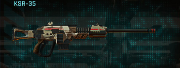 Indar scrub sniper rifle ksr-35
