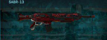 Tr zebra assault rifle sabr-13