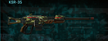 Temperate forest sniper rifle ksr-35