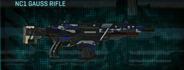 Nc patriot assault rifle nc1 gauss rifle