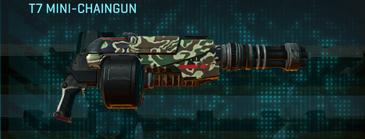 Scrub forest heavy gun t7 mini-chaingun