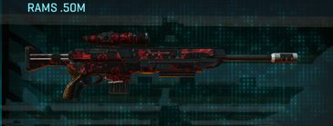 Tr loyal soldier sniper rifle rams .50m