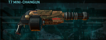 Indar rock heavy gun t7 mini-chaingun