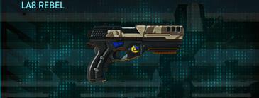 Indar scrub pistol la8 rebel