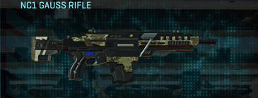 Pine forest assault rifle nc1 gauss rifle