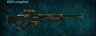 Amerish forest sniper rifle em4 longshot