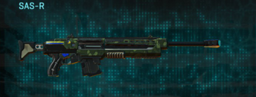 Amerish grassland sniper rifle sas-r