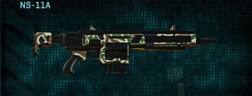 Scrub forest assault rifle ns-11a