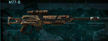 Indar rock sniper rifle m77-b