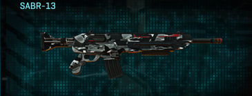 Indar dry brush assault rifle sabr-13