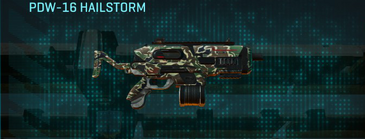 Scrub forest smg pdw-16 hailstorm