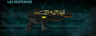 India scrub pistol la3 desperado