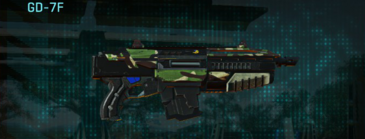 African forest carbine gd-7f