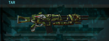 Jungle forest assault rifle tar