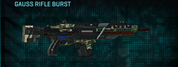 Scrub forest assault rifle gauss rifle burst