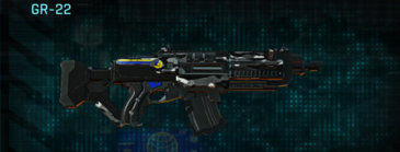 Indar dry brush assault rifle gr-22
