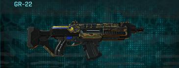Indar highlands v1 assault rifle gr-22