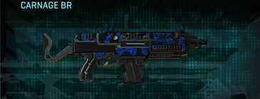 Nc loyal soldier assault rifle carnage br