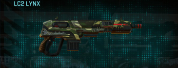 Temperate forest carbine lc2 lynx