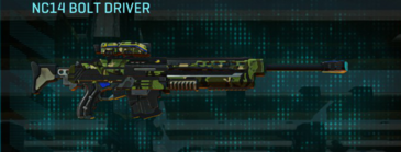 Jungle forest sniper rifle nc14 bolt driver