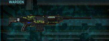 Jungle forest battle rifle warden
