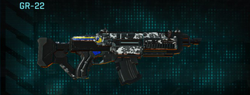 Snow aspen forest assault rifle gr-22