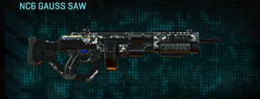 Snow aspen forest lmg nc6 gauss saw