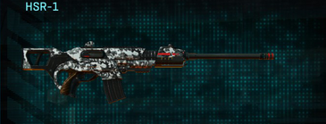 Snow aspen forest scout rifle hsr-1