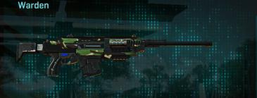 African forest battle rifle warden