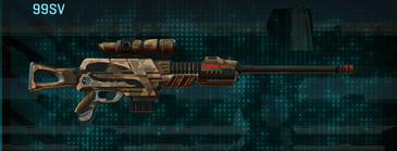 Indar plateau sniper rifle 99sv