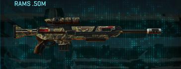 Indar highlands v1 sniper rifle rams .50m