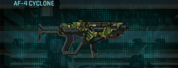 Jungle forest smg af-4 cyclone