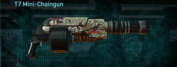 Arid forest heavy gun t7 mini-chaingun