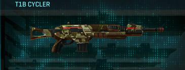 India scrub assault rifle t1b cycler