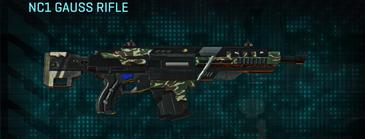 Scrub forest assault rifle nc1 gauss rifle