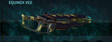 Temperate forest assault rifle equinox ve2