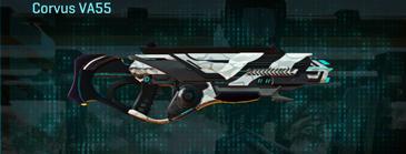 Esamir snow assault rifle corvus va55