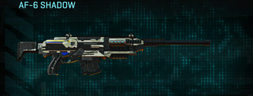 Indar dry ocean scout rifle af-6 shadow