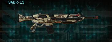 Indar scrub assault rifle sabr-13