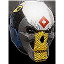 Nc Banded Skull helmet combat medic icon