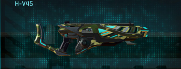 Temperate forest assault rifle h-v45