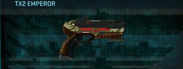 India scrub pistol tx2 emperor