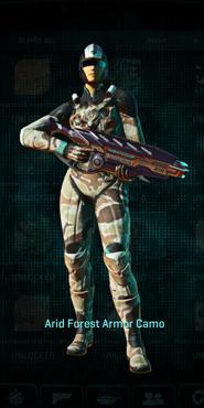 Vs arid forest combat medic