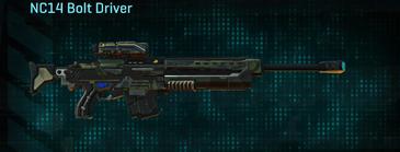 Amerish scrub sniper rifle nc14 bolt driver
